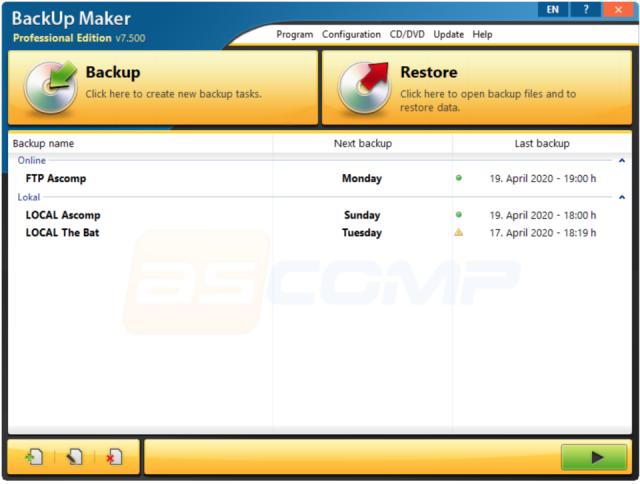 BackUp Maker Professional 7.504