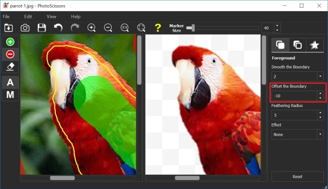 PhotoScissors Full version