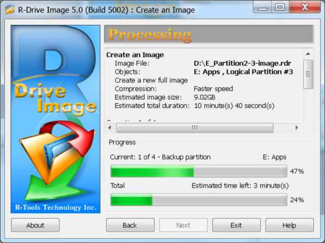R-Drive Image Free