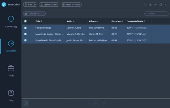 TuneCable Spotify Downloader 1.2.2