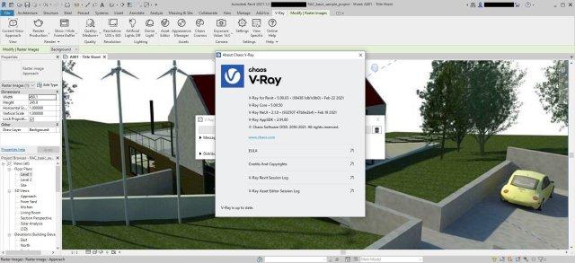 V-Ray Advanced for Revit Free
