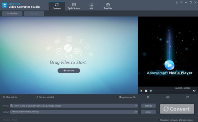 Apowersoft Video Converter Studio Crack