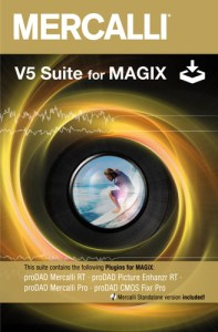 proDAD Mercalli V5 Suite for MAGIX