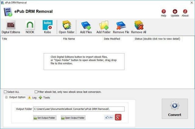 ePub DRM Removal Crack