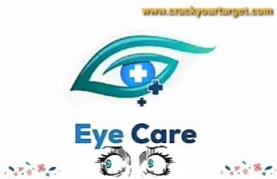Care of eye