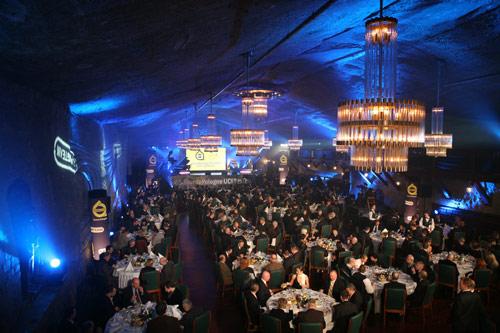 Cracow Spirit  Gala Dinner in Warszawa Chamber Wieliczka