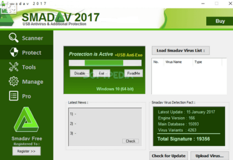 Smadav Pro 2018 Registration Name and Key Free Download