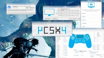 PCSX4 Emulator for PC 2018 With Bios and Roms Free Download