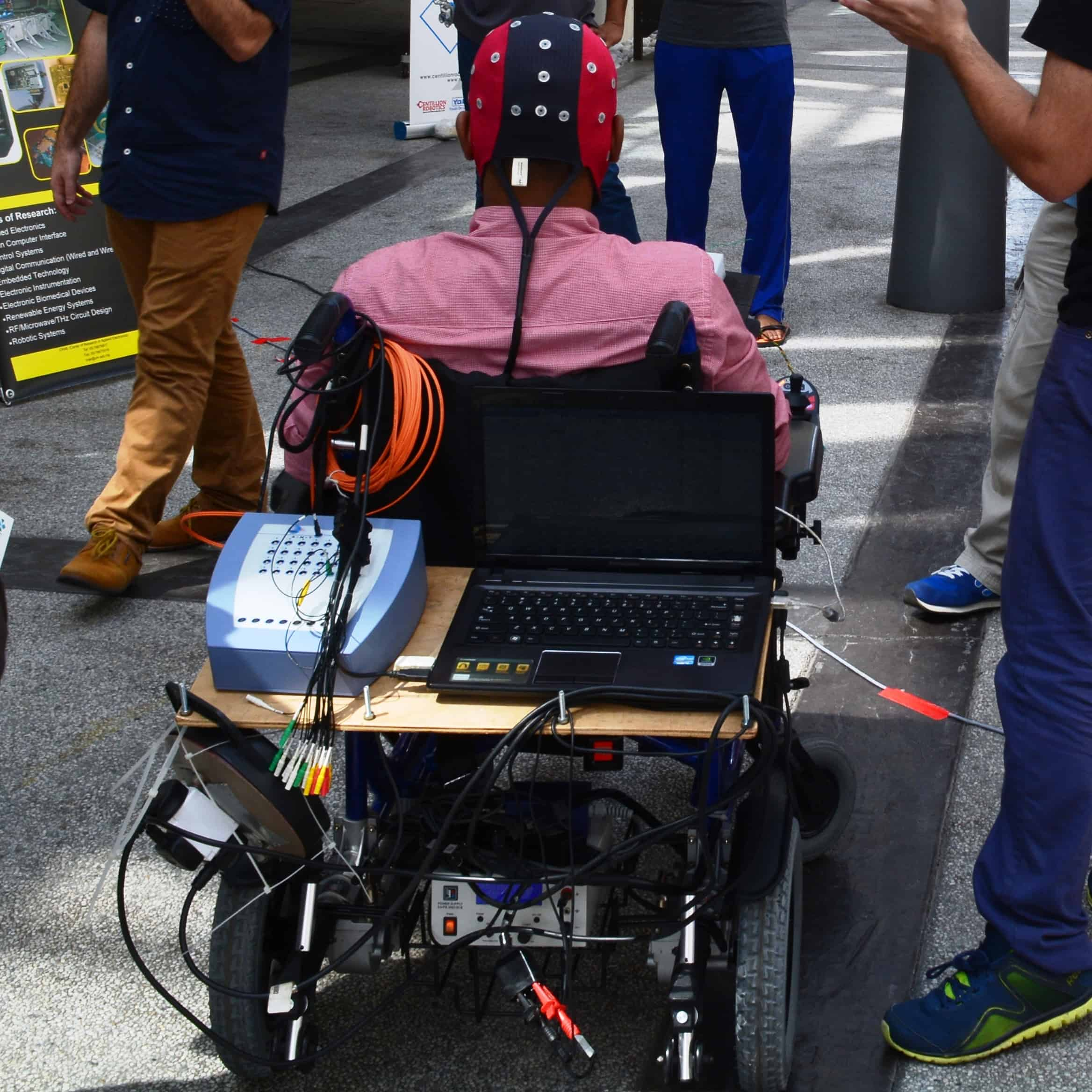 wheelchair project baby bamboo chair singapore brain operated crae tech