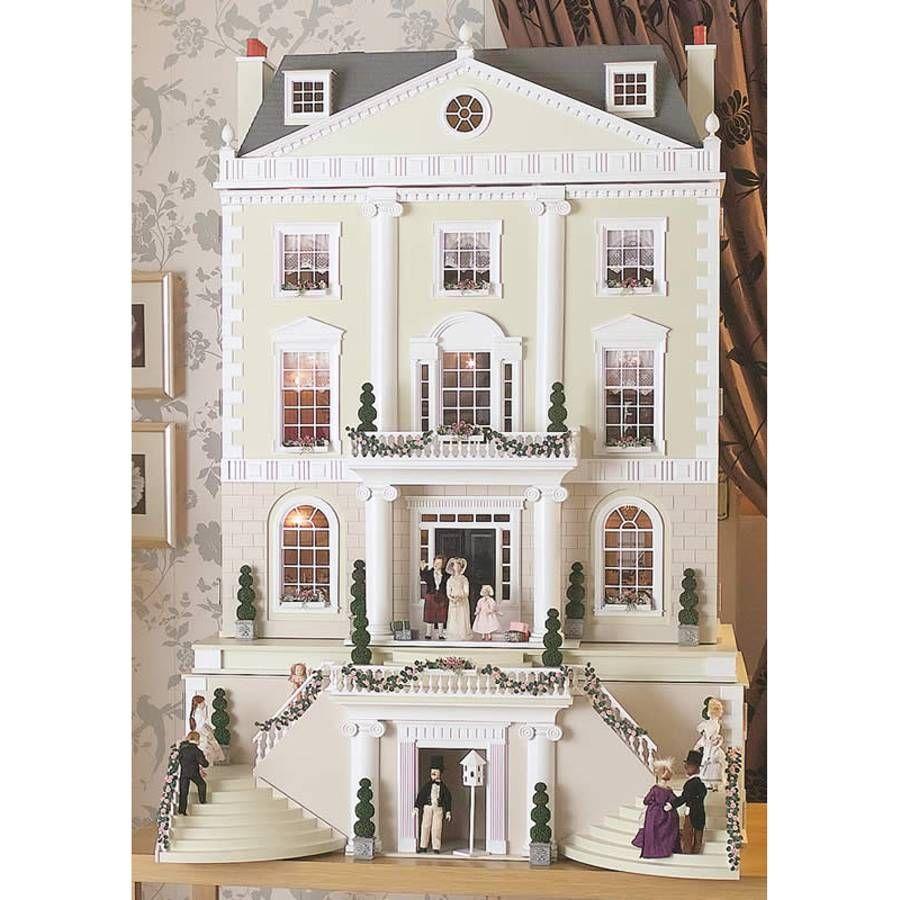 Grosvenor Hall Dolls House Kit 1739