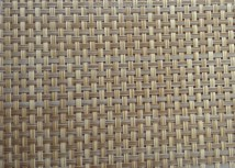 Rattan Color Textilene Fabric In Pvc Coated Mesh