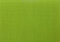 lawn chair fabric in green color 2X1 woven fabric