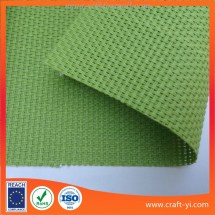 Green Color Textilene Mesh Fabric 2x2 Weave Fabrics