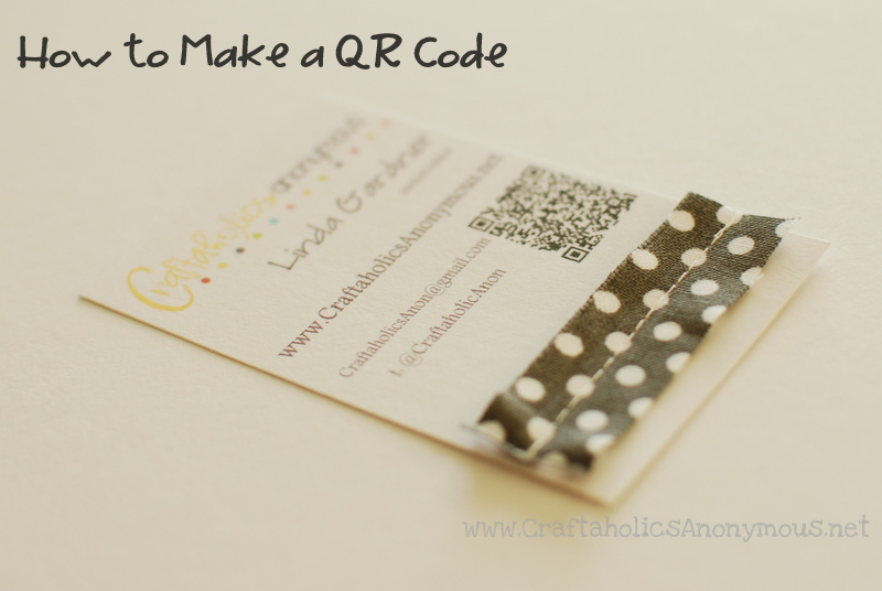 How To Make A QR Code