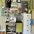 Craftaholics anonymous 174 craft room tour with johnny in a dress
