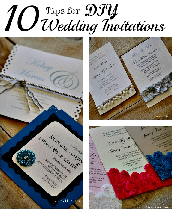 Craftaholics Anonymous 10 Tips For Making Diy Wedding