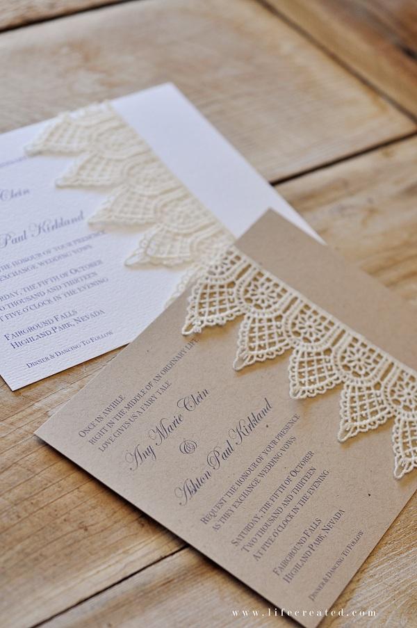 Tips For Making Diy Wedding Invitations