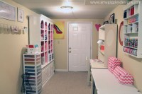 Craftaholics Anonymous | Small Craft Room Tour - Amy ...