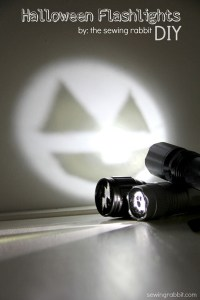 Craftaholics Anonymous   Halloween Flashlights: Easy DIY ...