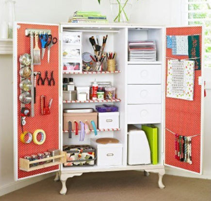 Craftaholics Anonymous Small Craft Room Storage Ideas