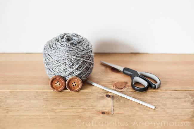 Craftaholics Anonymous Easy Crochet Bracelet Tutorial