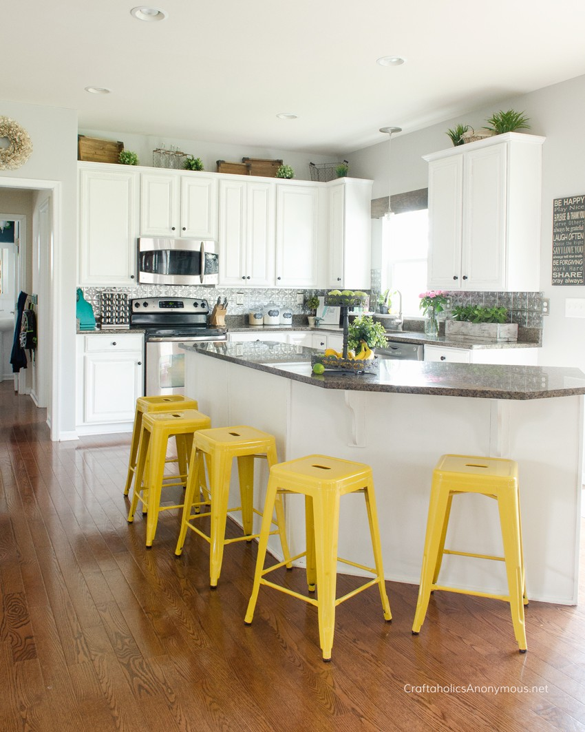 Craftaholics Anonymous How To Paint Kitchen Cabinets With