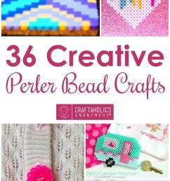 36 perler bead crafts craftaholics anonymous  [ 850 x 2000 Pixel ]