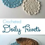 Craftaholics Anonymous Crochet Doily Trivets Free Pattern