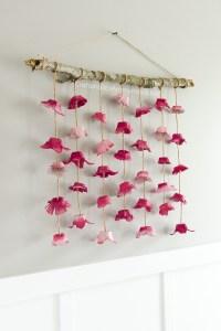 Craftaholics Anonymous | Boho Flower Wall Hanging made ...