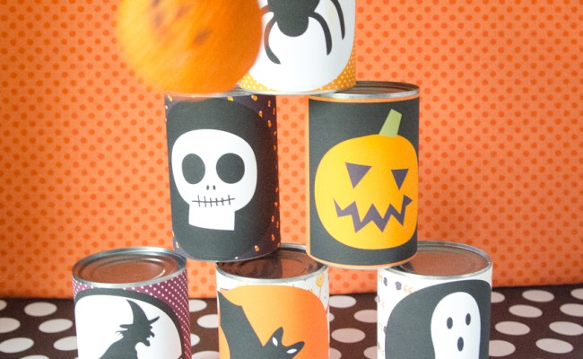 Craftaholics Anonymous Diy Halloween Bowling Game With