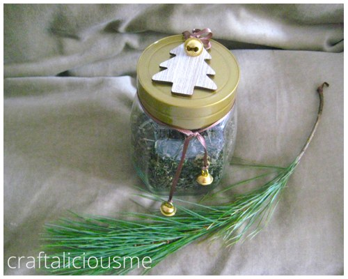 gift idea homade vanilla green tea