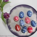 Sorbian Easter Eggs {Tutorial}