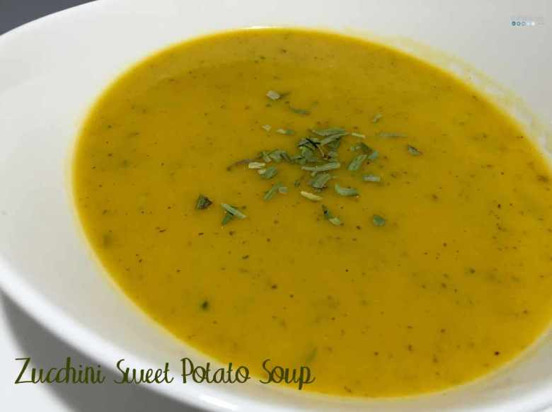 zucchini sweet potato soup