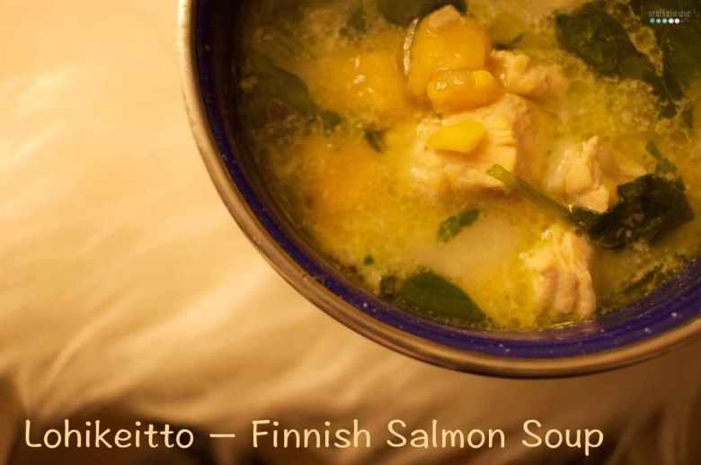 Lohikeitto Finnish Salmon Soup
