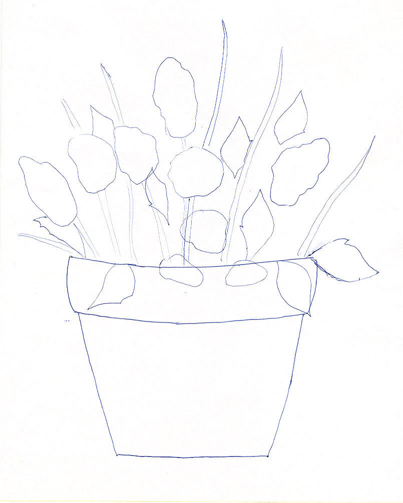 Free Flower Applique Pattern With Pressing Sheet Instructions