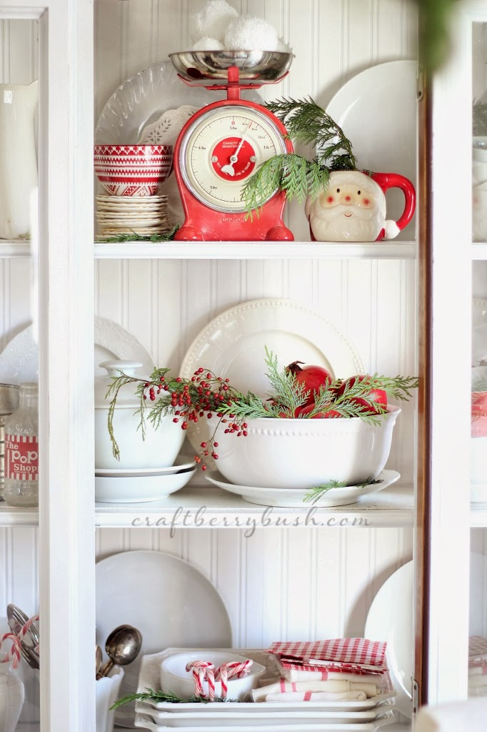 A Farmhouse Christmas Christmas Hutch And 8 Styling Tips