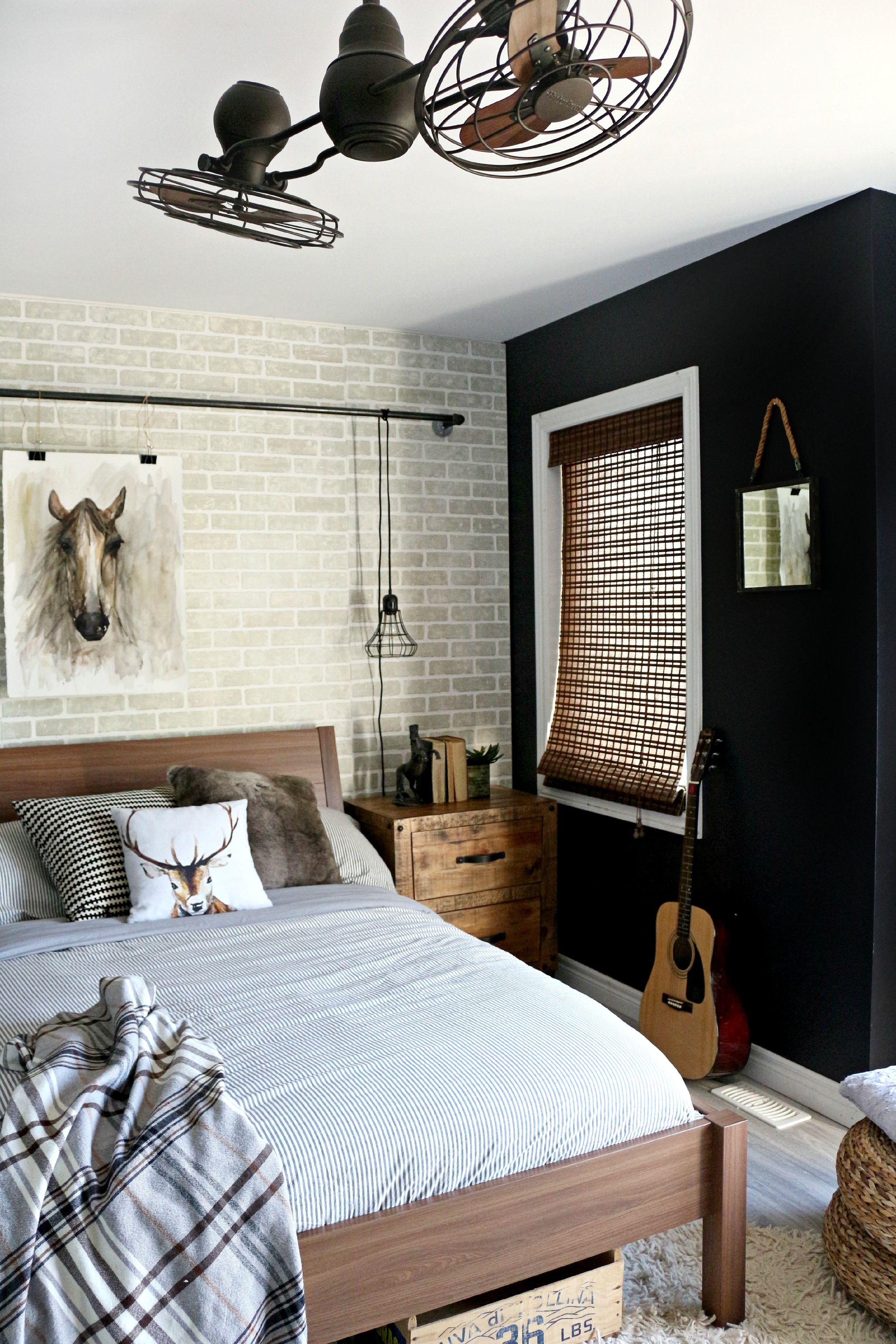Industrial Teen Bedroom Makeover Leonu0027s Furniture