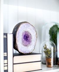 Faux Amethyst Geode DIY