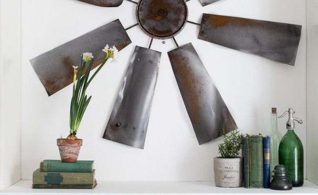 Fixer Upper Decor Diy Windmill