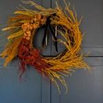 Five Minute Dollar Tree Fall Wreath