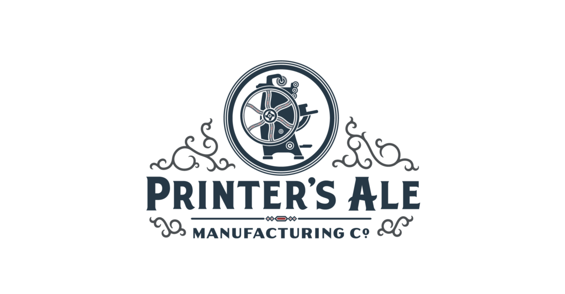 A printer turned brewery: Branding Printer's Ale