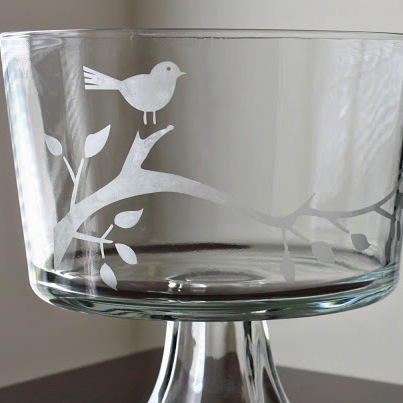 DIY Glass Etching  Craft By Photo