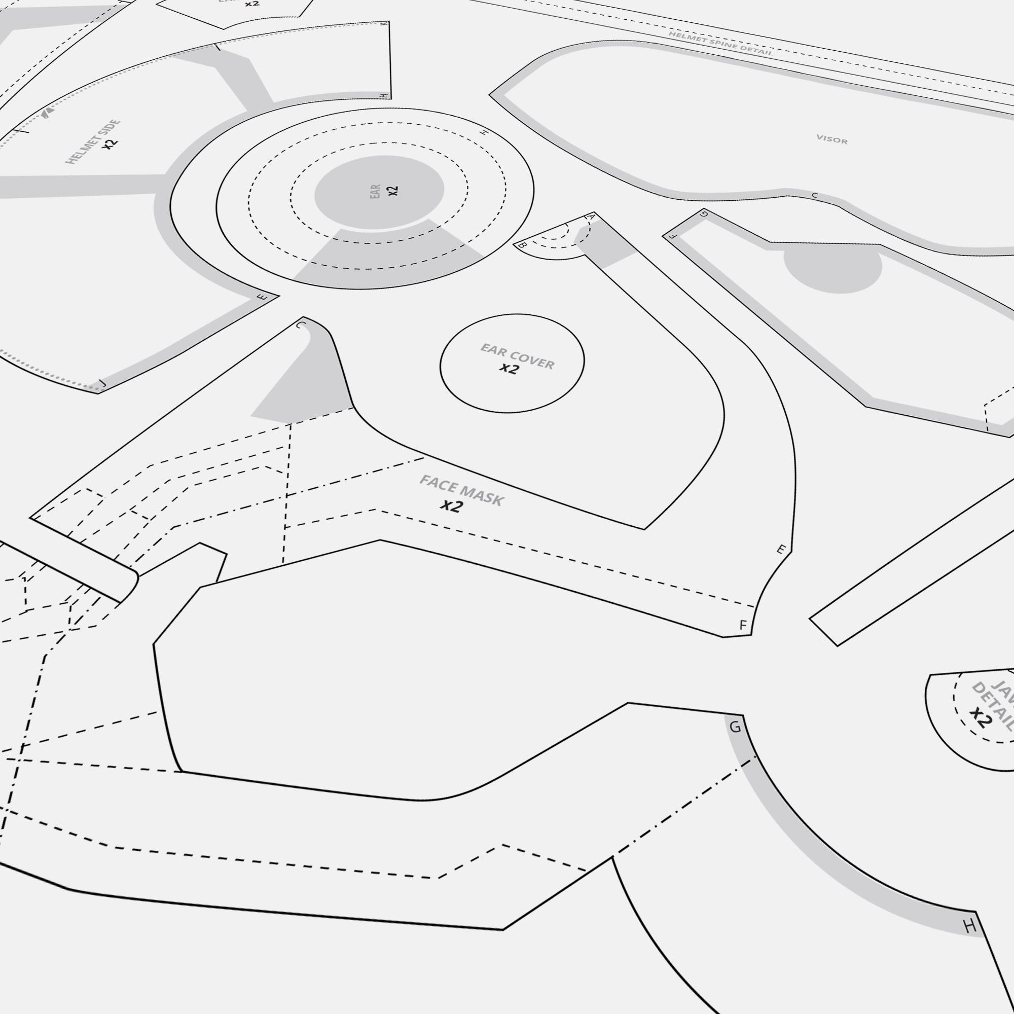 Taskmaster Helmet » CraftCosplay