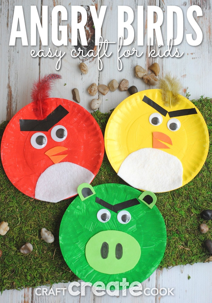 Kids Craft Ideas With Paper Plates
