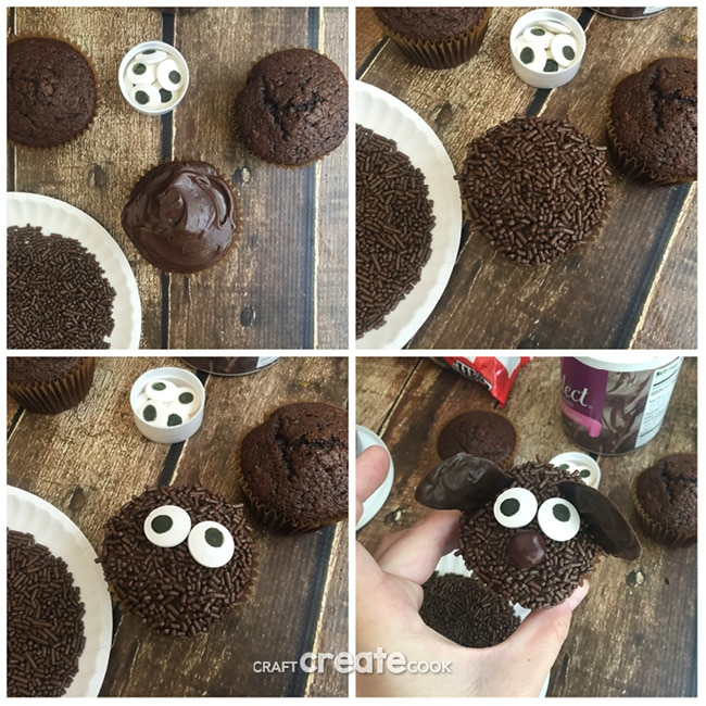 Secret Life of Pets Duke Cupcakes