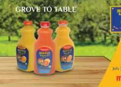 Find Indian River Select Brand juices at your local Meijer store!