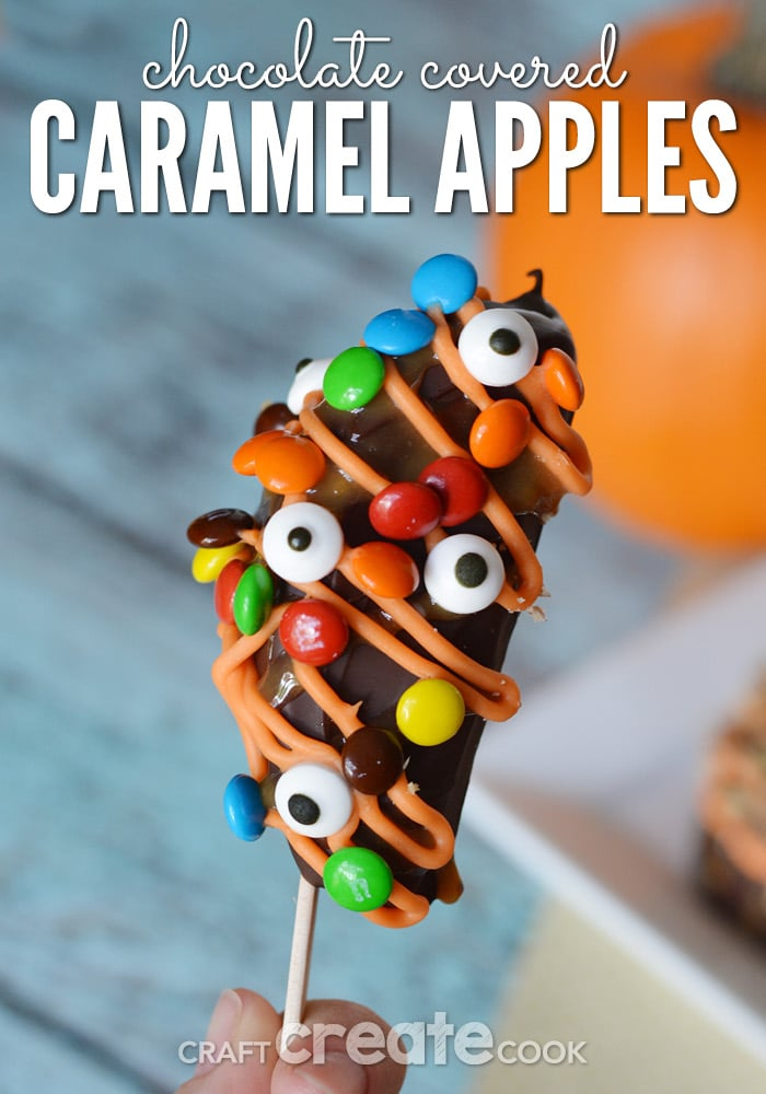 Chocolate Covered Caramel Apples are easy to make and taste amazing!