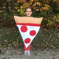 Easy No Sew Kids Pizza Costume