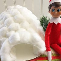 Elf on the Shelf Igloo