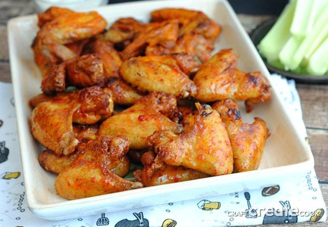 Homemade Chicken Wings Recipe